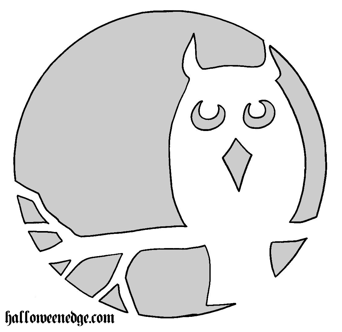 File name: owl-pumkin-pattern.jpg pumpkin carving Patterns