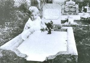 Ghost of a baby poltergeuist kid